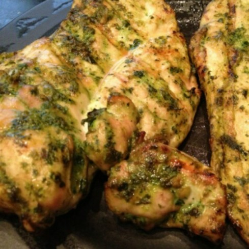 Tuesday Cook Off ~ Cilantro Thai Grilled Chicken