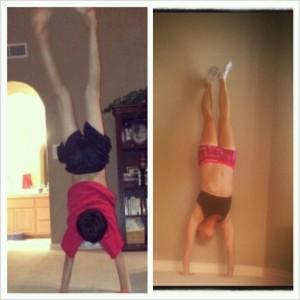 #handstandfriday