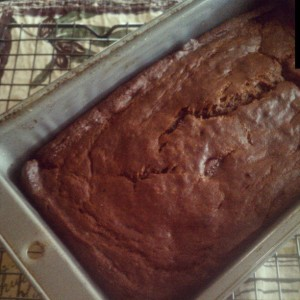 Tuesday Cook Off ~ Chocolate Chocolate Chip Banana Bread