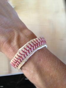 Baseball String Bracelet