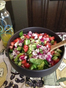 Tuesday Cook Off ~ The Biggest Loser Salad and Dressing