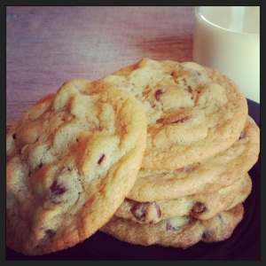 Tuesday Cook Off ~ Chocolate Chip Pudding Cookies
