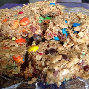 Tuesday Cook Off ~ Chewy Granola Bars
