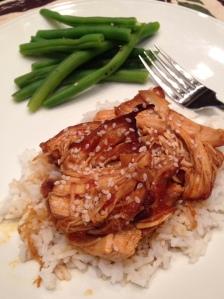 Tuesday Cook Off ~Crock Pot Sweet Sesame Chicken