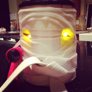 Halloween Coffee Can Craft