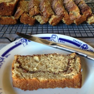 Tuesday Cook Off ~ Cinnamon Sugar Ribbon Bread