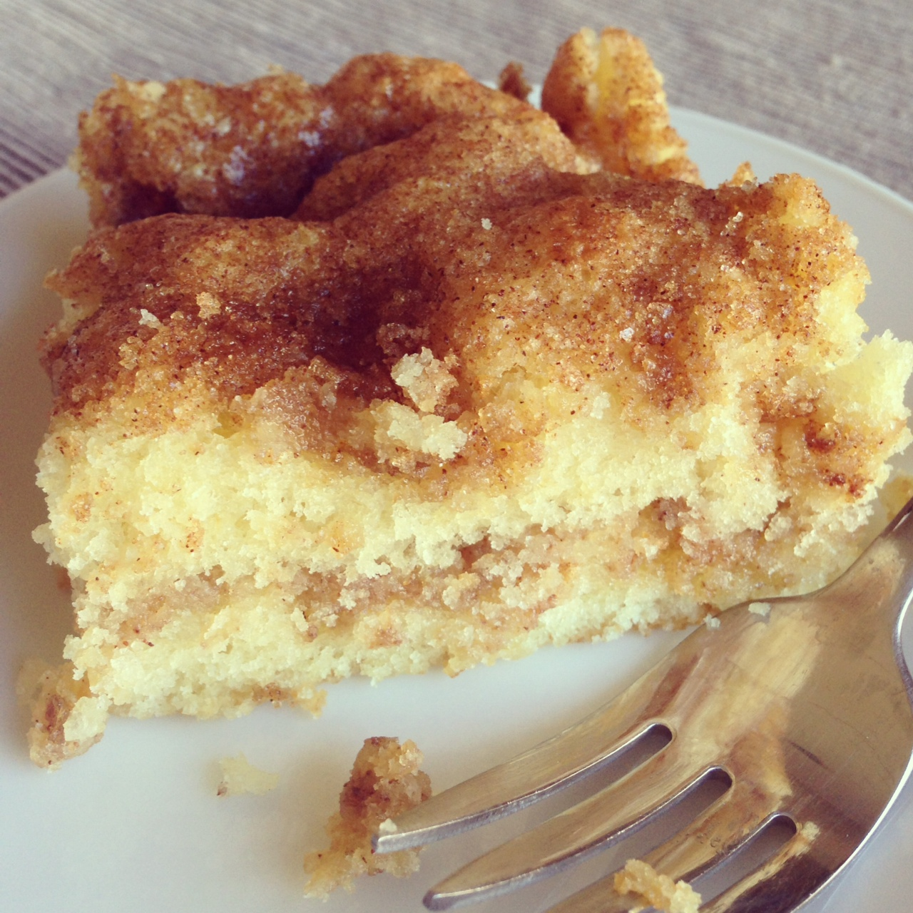 Tuesday Cook Off ~ Quick and Easy Coffee Cake |