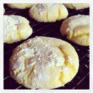 Tasty Treats - Easy Lemon Cookies