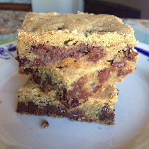 Tuesday Cook Off ~ Chocolate Chip Cookie Bars