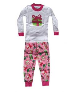 Sara's Prints Prents Applique Christmas pajamas